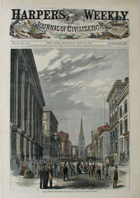 Wall Street, New York, a full page spread from Harper's Weekly