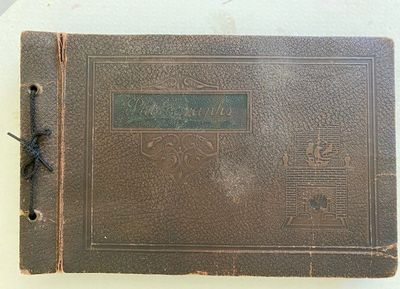 Hughes, Langston. Harlem Renaissance Poet. Original Gelatin silver print Photo Album of Carmel and P...