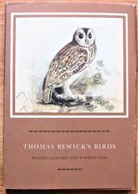 image of Thomas Bewicks Birds : Watercolours and Engravings