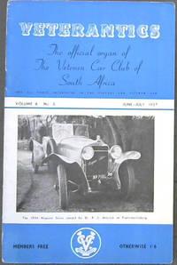 Veterantics: The official organ of The Veteran Car Club of South Arica