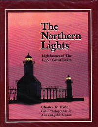 The Northern Lights:  Lighthouses of the Upper Great Lakes.  Shimon Peres Presentation Copy.
