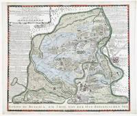 Accurater Geographischer Entwurf der Königlichen Dänischen auf der Küste Choromandel in Ost-Indien belegenen Stadt und Vestung Trankenbar oder Tarangenbadi u Dansburg
