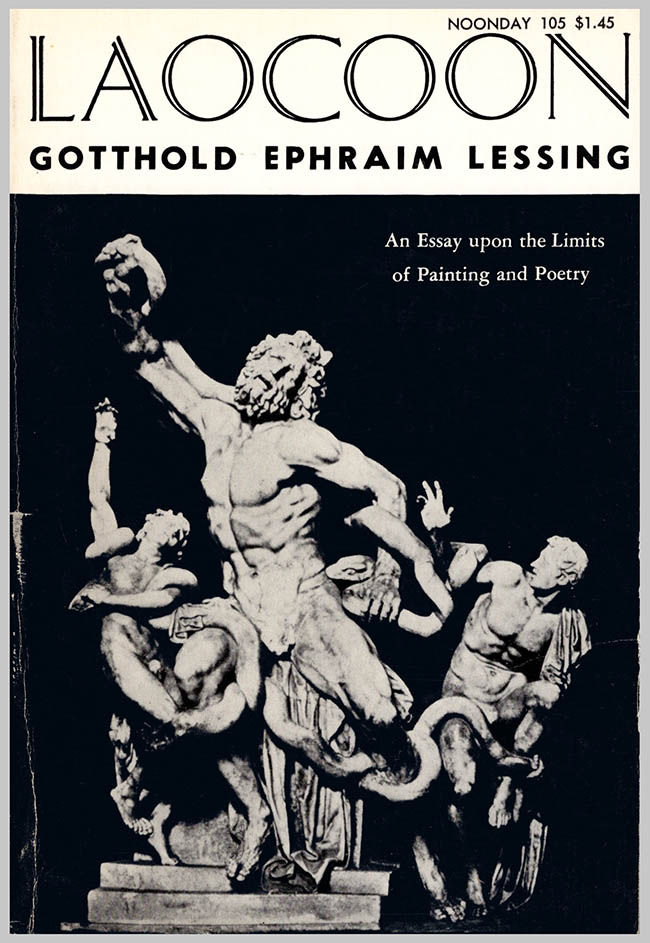 Laocoon an essay upon the limits of painting and