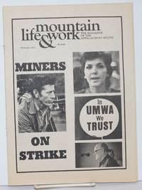 Mountain life & work, the magazine of the Appalachian South, November 1973, vol. 49, no. 11