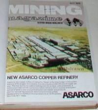image of Mining Magazine (Vol 135, July-Dec 1976) Six Issues