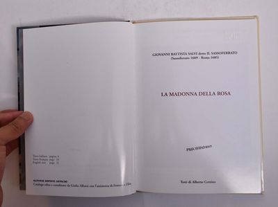 Vicenza: Alfonsi Dipini Antichi, 2003. Hardcover. VG-. Ex-library with usual marks. Clean and tight ...