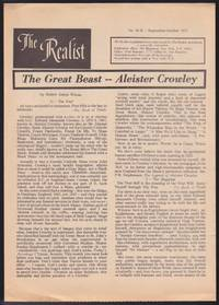 The Realist : The Great Beast -- Aleister Crowley (No. 91 - B)
