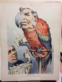 """Pretty Poll!, The Bird Fancier - Talk? Say, he's as good as a phonograph"""". July 4, 1906"""