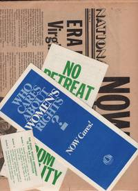 Two Issues of National Now Times, March 1978 and ERA Extra; with additional NOW Ephemera (Trifold Flyers and Cards)