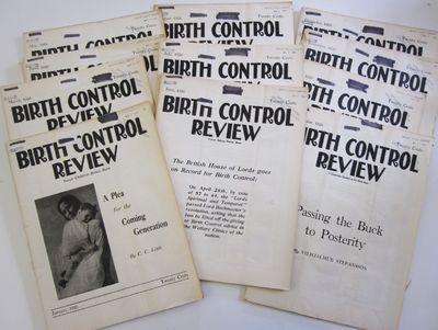 11 issues of Margaret Sanger's