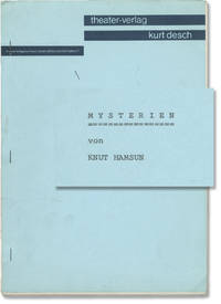 image of Mysterien [Mysterier][The Mysteries] (Original script for the 1976 play)