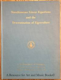 Simultaneous Linear Equations and the Determination of Eigenvalues