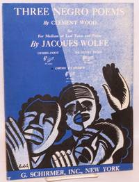 Three Negro poems; set for medium or low voice and piano by Jacques Wolf: Debbil-Foot, De Glory Road, and Gwine to Hebb\'n