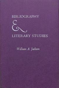 Bibliography & Literary Studies.