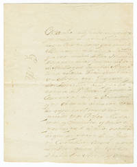 [AUTOGRAPH LETTER, SIGNED, IN SPANISH, FROM MIGUEL DE MÚSQUIZ, COMMANDANT AT NACOGDOCHES, TO THE COMMANDANT OF THE OPELOUSAS POST, MARTIN DURALDE, REPORTING ON STOLEN HORSES, WITH TWO EARLY HORSE BRANDS OF SPANISH TEXAS]