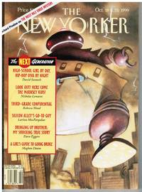 image of NEW YORKER:  THE NEXT GENERATION. COVER BIG BABY by CARTER GOODRICH