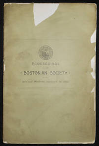 image of Proceedings of the Bostonian Society at the Annual Meeting, January 10, 1905