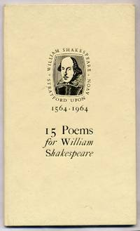 15 Poems For William Shakepeare