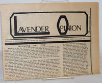 image of Lavender Opinion: vol. 1, #6, August 1974: Growing Up Gay