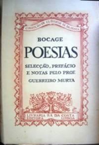 image of Poesias: Selecção, Prefacio e Notas de Guerreiro Murta.