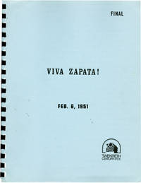 Viva Zapata (Original screenplay for the 1952 film, later reproduction)