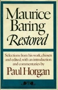 Maurice Baring Restored