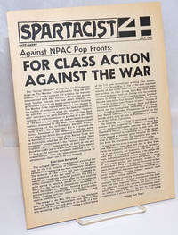 Against NPAP Pop Fronts: For class action against the war. Spartacist supplement, July 1971