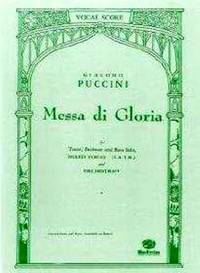 Messa Di Gloria by Puccini - from Music by the Score and Biblio.co.uk