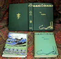 The Hobbit, or There and Back Again, 1937 UK 1st Impression, with Custom Full Leather Clamshell Case
