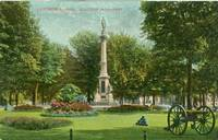 Lawrence, Mass, Soldiers Monument early 1900s used Postcard