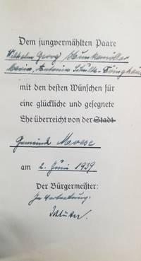 image of MEIN KAMPF; ZWEI BANDE IN EINEM BAND 2 Volumes in One.