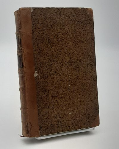 Paris.: Duchesne., 1786. Contemporary half calf over speckled boards, raised bands, red leather spin...