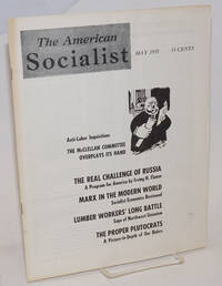 The American Socialist Volume 5, Number 5, May 1958 by  eds  Harry Braverman [and] J. Geller - Paperback - 1958 - from Bolerium Books Inc., ABAA/ILAB and Biblio.com
