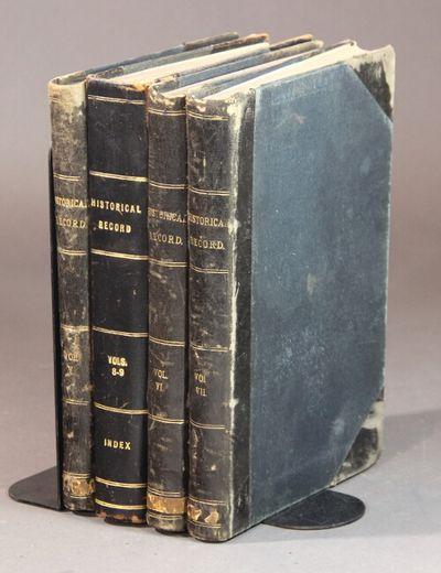 Salt Lake City: Andrew Jenson, 1890. 5 volumes in 4, 8vo, uniformly rebound in half gilt-ruled leath...