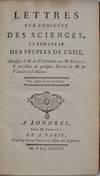 View Image 2 of 2 for LETTRES SUR L'ORIGINE DES SCIENCES, ET SUR CELLE DES PEUPLES DE L'ASIE. Adressees a M. de Voltaire p... Inventory #019737