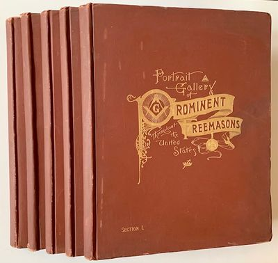 Philadelphia: John C. Yorston & Co., Masonic Publishers, 1892. Decorative Cloth. Very Good +. The 18...