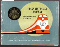 image of Trans- Australian Railway  - Links the States with the Fast Diesel Electric Trains