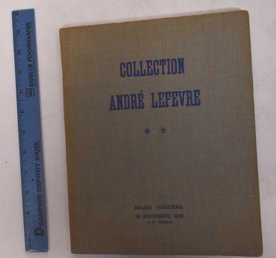 Paris: Palais Galliera, 1965. Hardcover. VG- (Small white label toward bottom of spine; Some discolo...