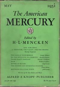 image of The American Mercury Vol. XXIII, No. 89, May 1931