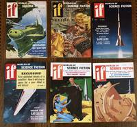 IF. Worlds of Science Fiction. 1956. (Six issues, complete year)