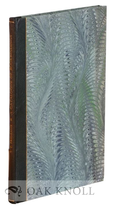 Bronxville: Nicholas T. Smith, 1979. cloth. Bookbinding. 8vo. cloth. 20 pages and 26 plates. Reprint...
