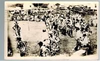 image of (Real Photo postcard) Osage Native American Ceremony, Hominy, Okla.  1941