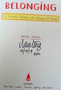 Belonging (SIGNED, DATED & NYC)