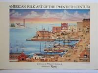 American Folk Art of the Twentieth Century: Promotional Poster