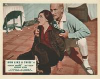 image of Run Like a Thief (Collection of 8 British front-of-house cards from the 1968 film)