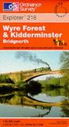 image of Kidderminster and Wyre Forest (Explorer Maps)