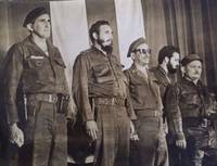 Photograph of Fidel Castro, et al. (Signed)