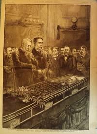 GARFIELD ASSASSINATION PRINT, 1881
