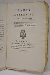 Paris littéraire. Première partie.