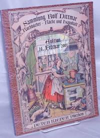 image of Auktion. Sammlung Rolf Dittmar: Kochbucher Kuche und Haushalt. Versteigerung: Donnerstag, 10 Februar 2001